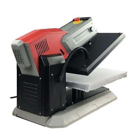 Automatische elektronische Wärmepresse fürtextildruck