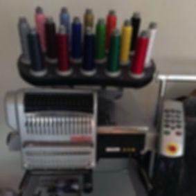 Gebrauchte Melco Stickmaschine