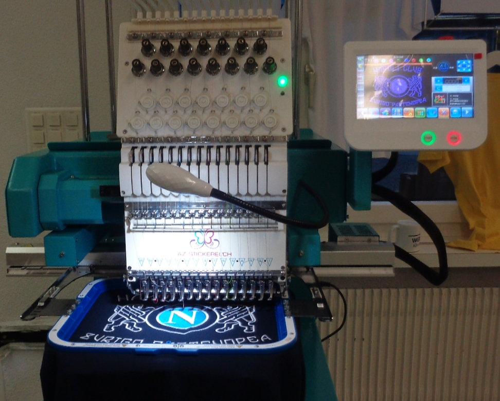 Stickmashine Neueste Technik in der Schweiz