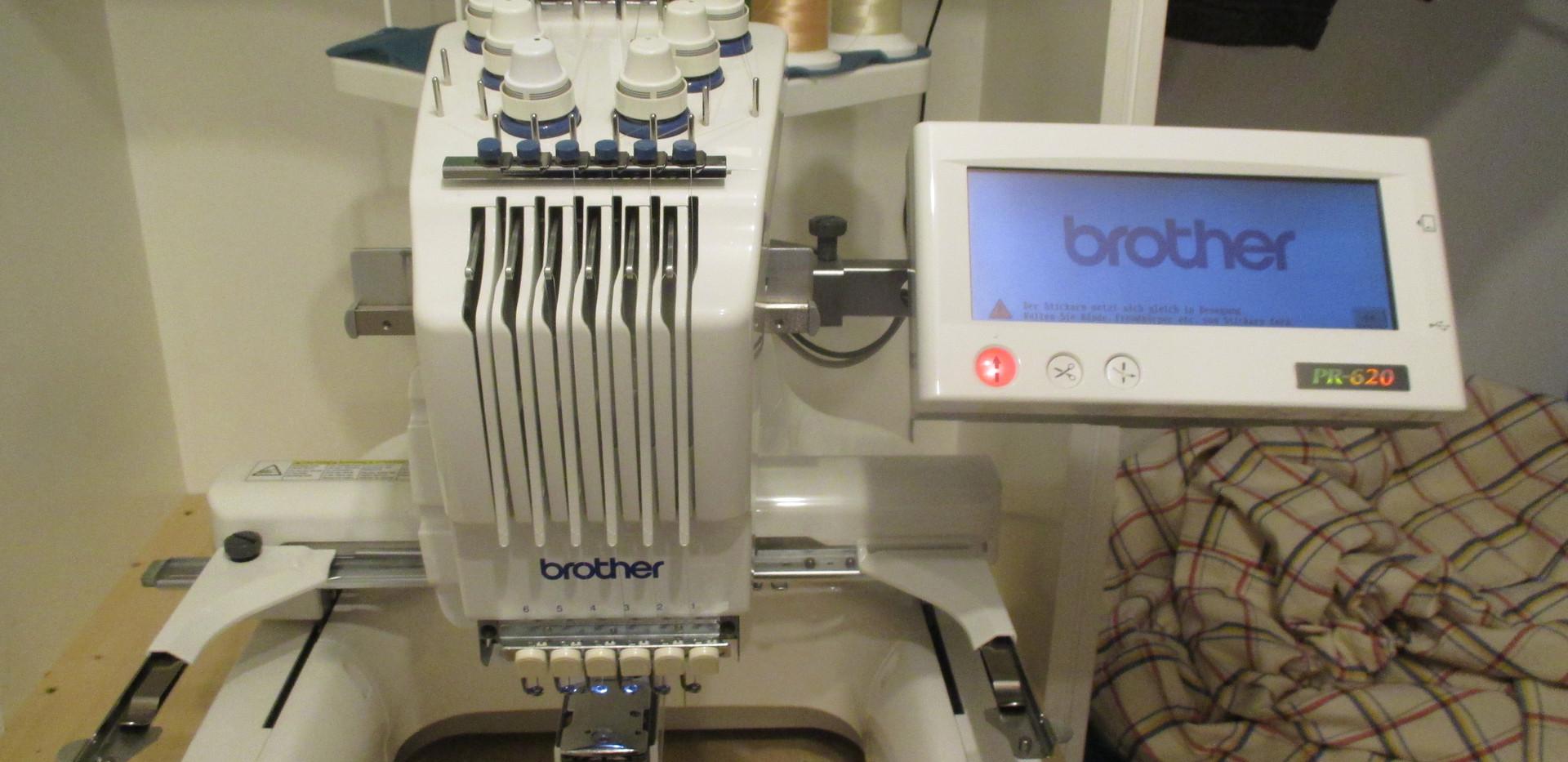 Brother Stickmaschine Pr620