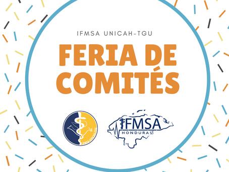 I Feria de Comités - IFMSA UNICAH-TGU