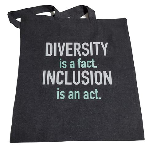 Black Inclusion Tote