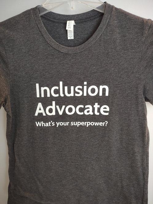 Inclusion Advocate Adult Tshirt
