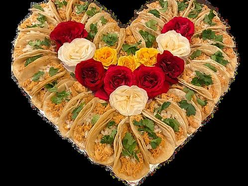 I Heart Tacos 15 w/ Roses