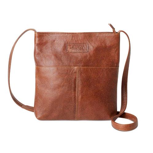 Tan Simple Sling Bag