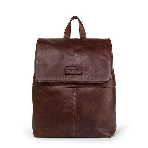 Brown Backpack