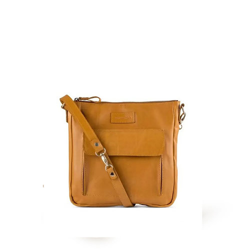 Tan Structured Sling