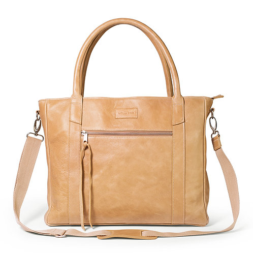 Large Caramel Deluxe Tote