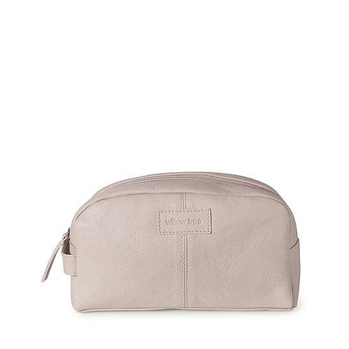 Unisex Cream Toiletry Bag