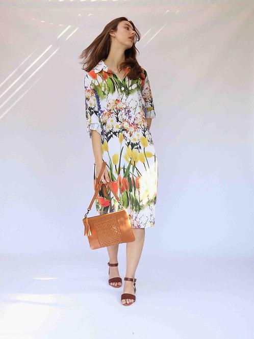Tulip Digital Printed Shirt Dress
