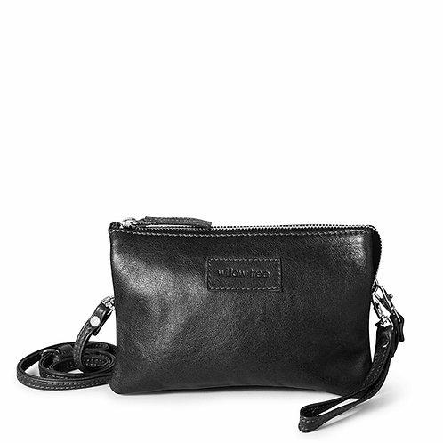 Black Mini Sling Wallet and Clutch Bag