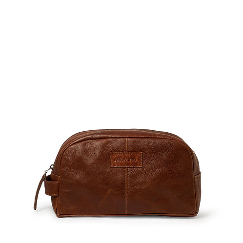 Unisex Pecan Toiletry Bag