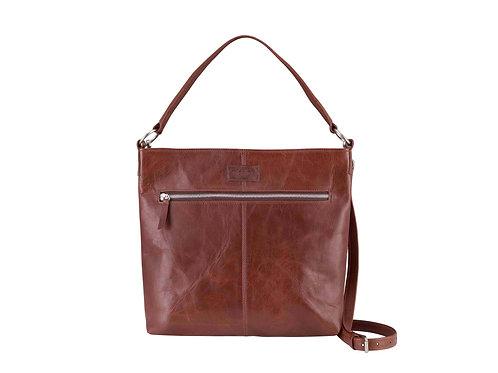 Brown Spacious Shoulder/Crossbody Bag
