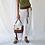 Thumbnail: Tan and Raffia Box Bag