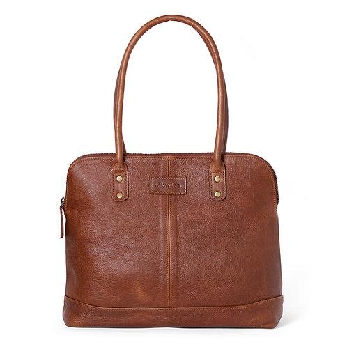 Tan Bowling  Bag