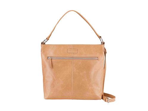 Hazelnut Spacious Shoulder/Crossbody Bag