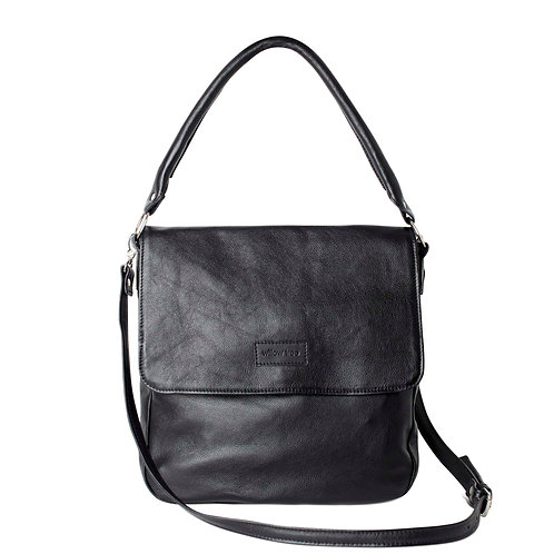 Black Large Messenger