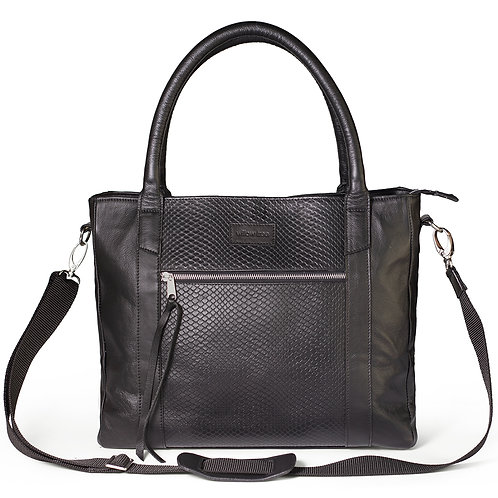 Large Black Deluxe Tote