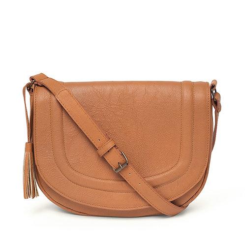 Tan Saddle Bag