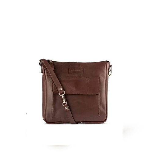 Brown Structured Sling