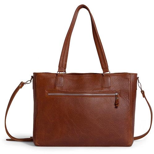 Tan Ladies Laptop Bag