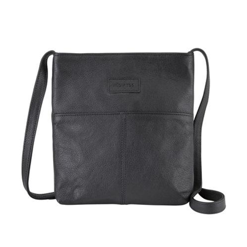 Black Simple Sling Bag