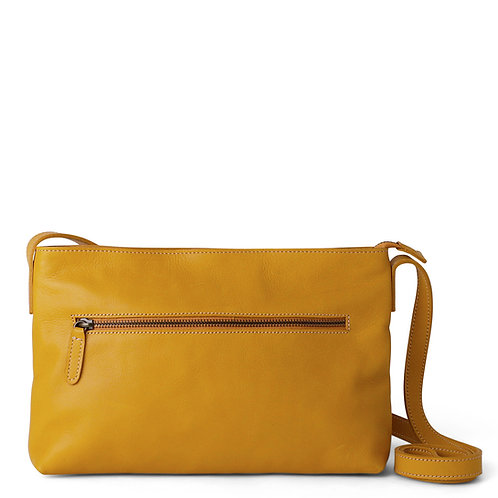 Yellow Zipped Sling