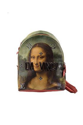 "Louis Vuitton x Jeff Koons ""Da Vinci"" Backpack"