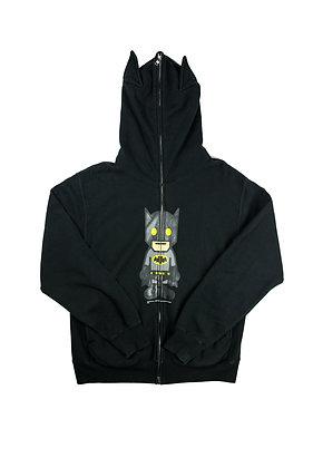 Bape x DC Comics Batman Full Zip Bat Ear Hoodie