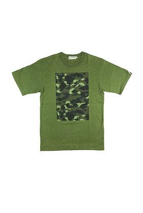 Bape Ape General Green Camo Tee
