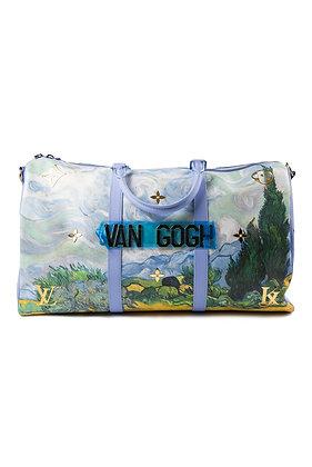 "Louis Vuitton x Jeff Koons ""Van Gogh"" Keepall"