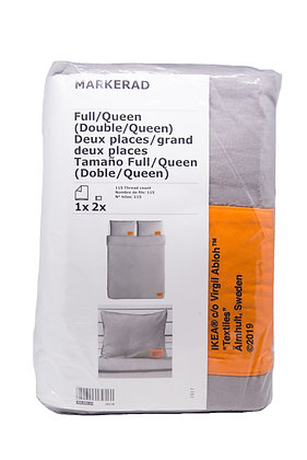 Virgil Abloh x Ikea Duvet Cover + 2 Pillow Cases