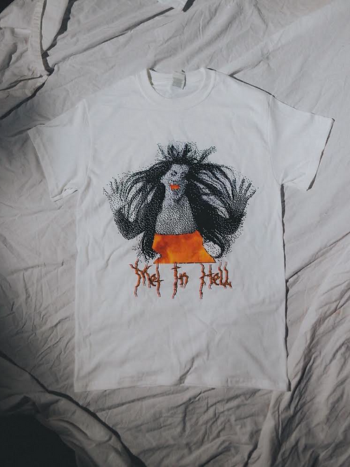 Met In Hell Official T Shirt