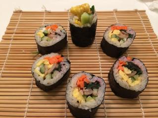 韓式飯卷 - 紫蘇豬肉