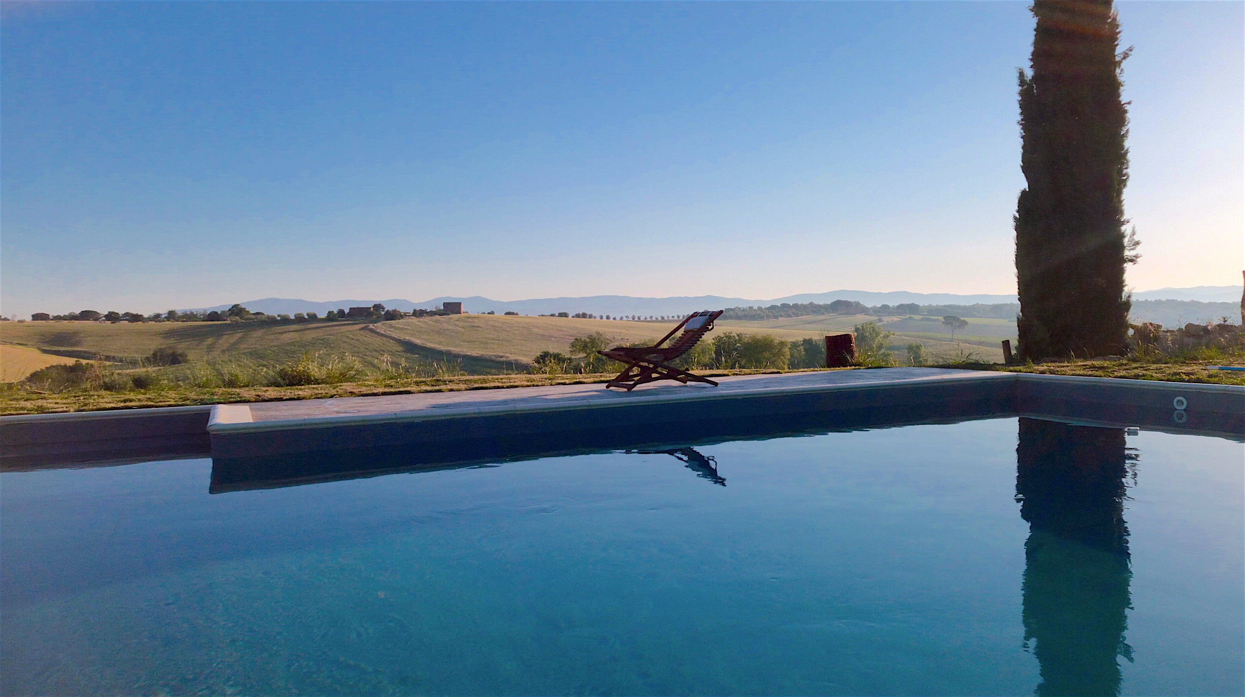 piscina in Umbria