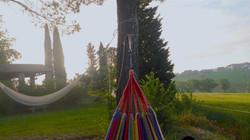 Relax  and  hammocks near Tuscany