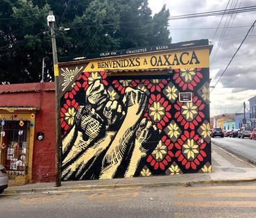 17) Mural Bienvenidxs - Gran OM & Co - O