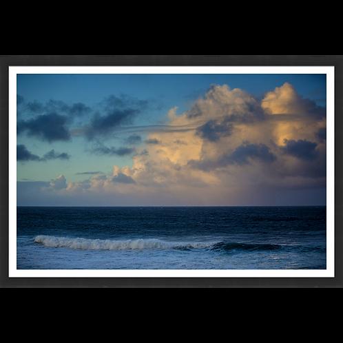 Ocean Sunset on the Horizon