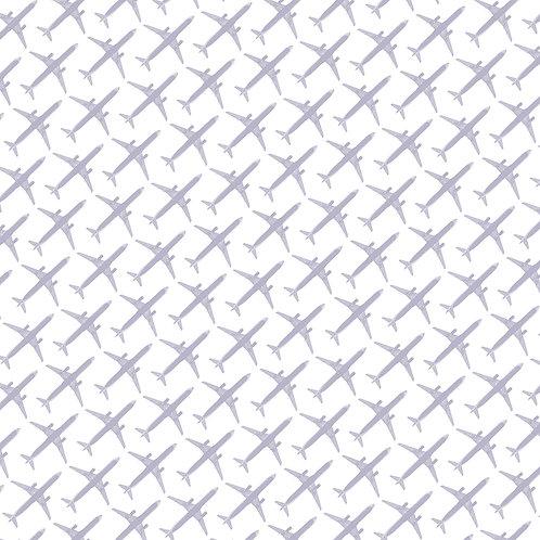 Airplane — Gray, White