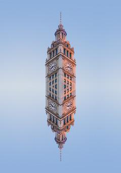 WRIGLEY TOWER REFLECTION