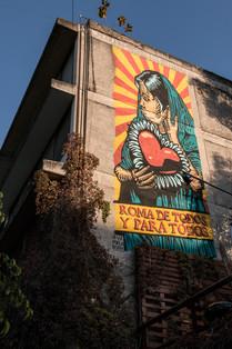 07) Mural Va Por la Roma - Gran OM & Co