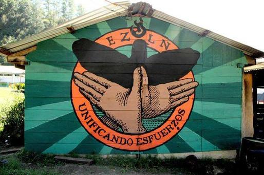 04) Mural Morelia EZLN - Gran OM & Co -