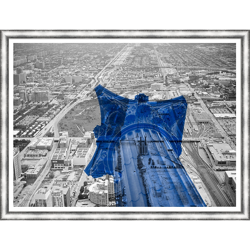 Corinthians Skyline in Blue