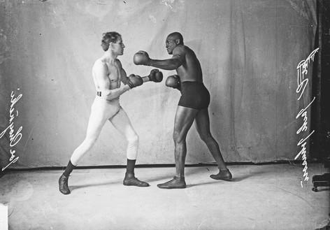 JACK JOHNSON VS. JOE CHOYNSKI