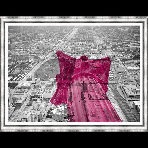Corinthians Skyline in Pink