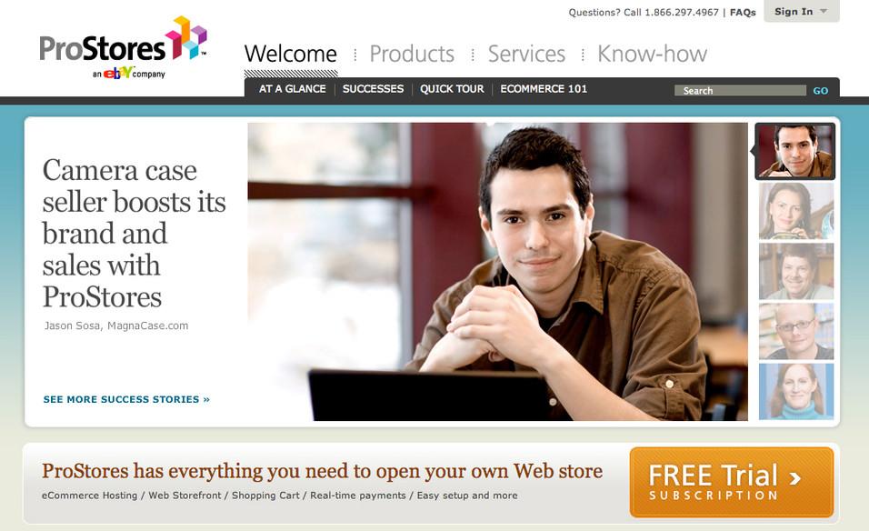 ProStores Ebay