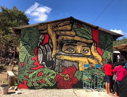 19) Mural EZLN - Gran OM & Co - Chiapas.