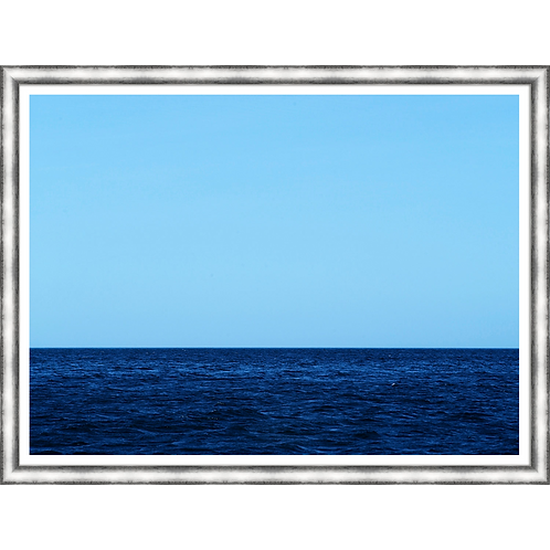 Two Shades of Blue on the Horizon