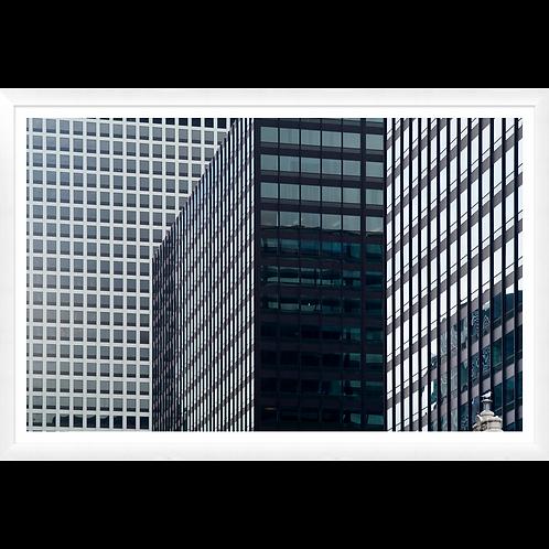 Graphic Mirrored Buildingscape