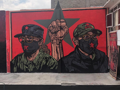 18) Mural Cafe Zapata - Gran OM & Co - C